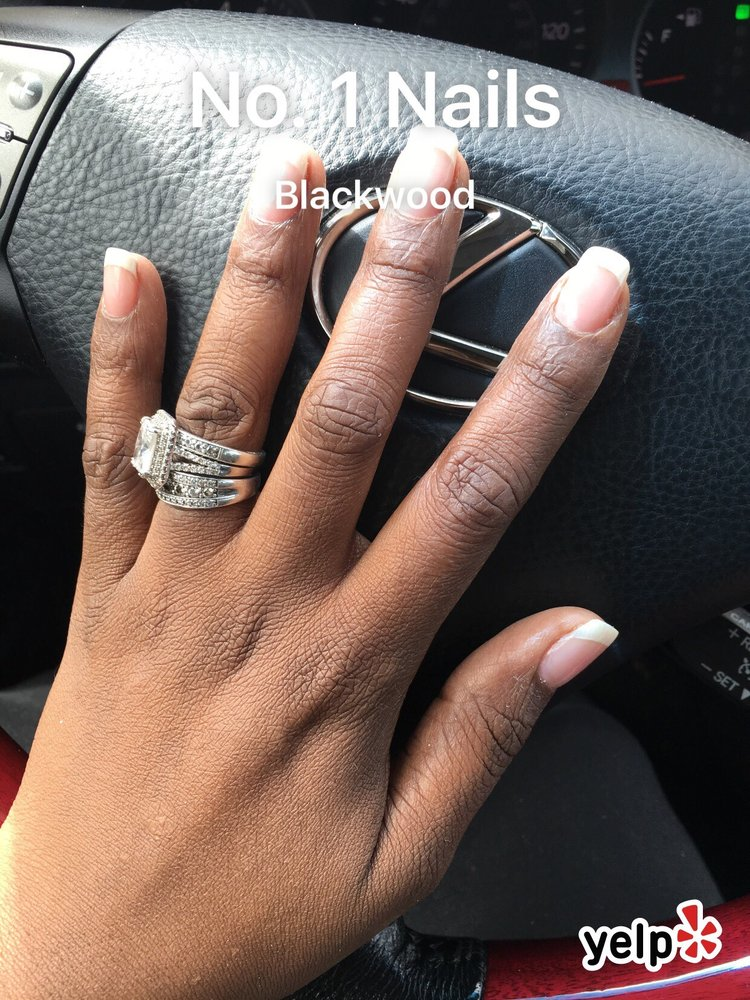 American Manicure & fill on natural nails. No tips - Yelp