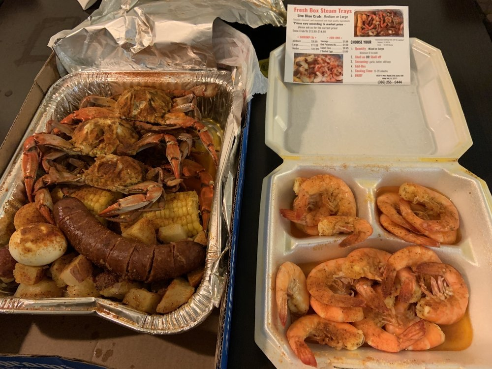 Food from Fresh Box Seafood