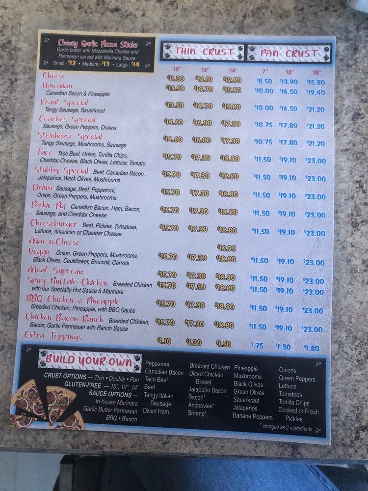 Coaches Corner Pizza: 608 S Front St, Conrad, MT