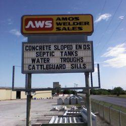 Amos Welder Sales Building Supplies 2219 Hwy59 E