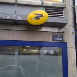 la poste post offices 13 rue nationale centre lille. Black Bedroom Furniture Sets. Home Design Ideas