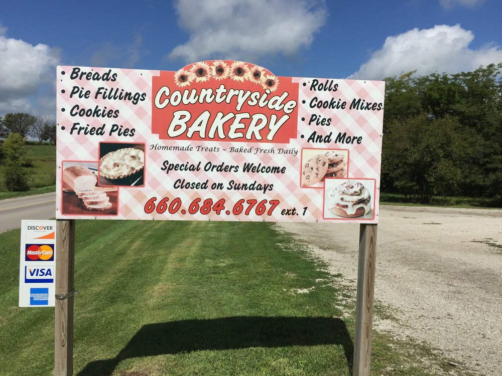 Countryside Bakery: 21870 State Hwy 190, Jamesport, MO