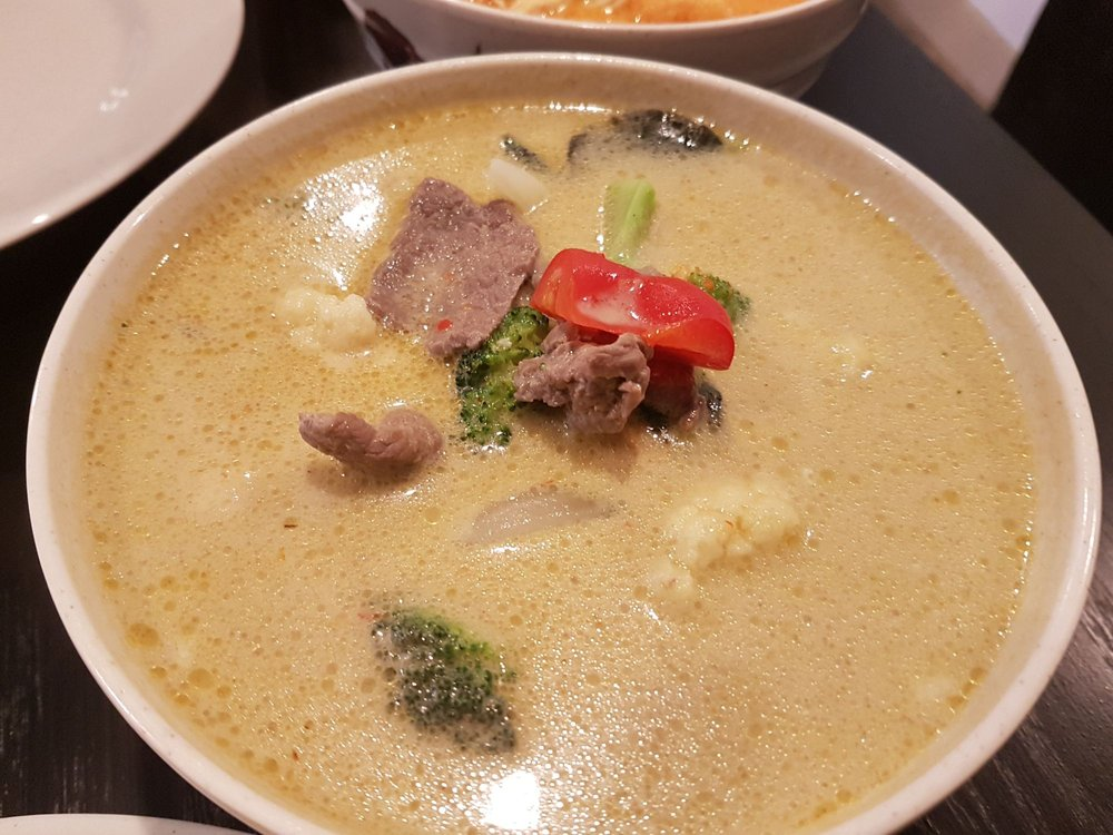 Green curry beef yelp for Ano thai lao cuisine menu