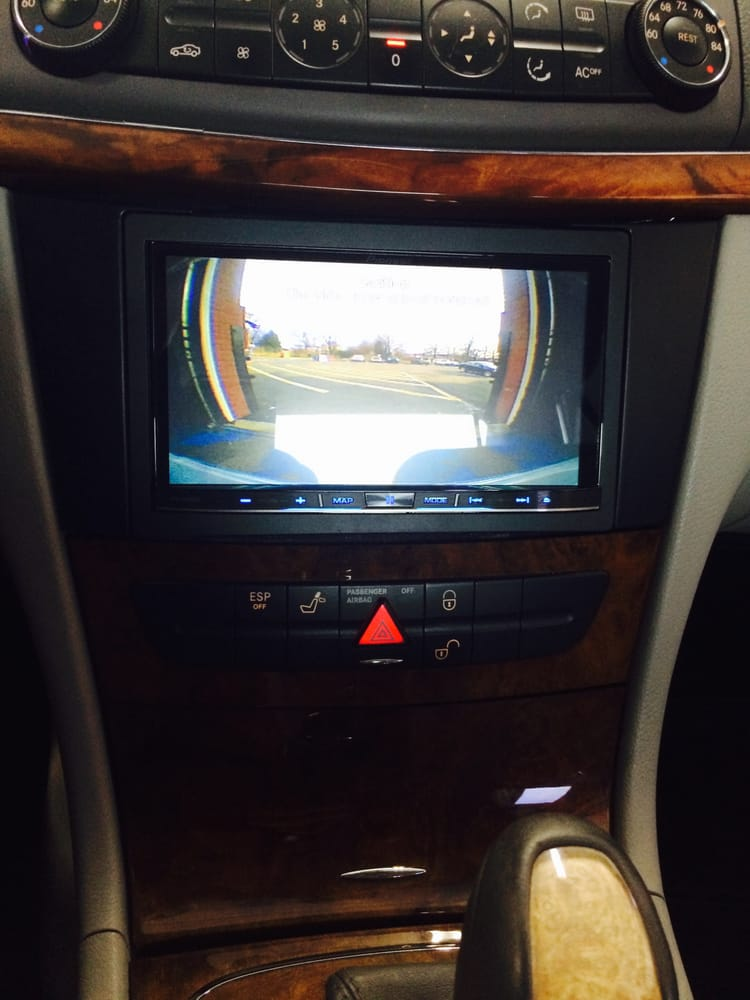 Mercedes benz e320 with a pioneer avic8000nex navigation for Mercedes benz navigation system for sale