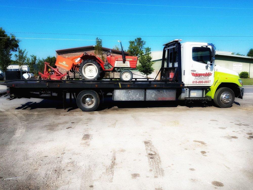 Mike Barrett's Automotive & Wrecker Service: 1551 W College St, Murfreesboro, TN