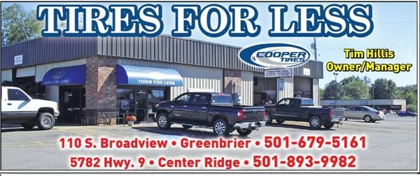 Tires For Less >> Tires For Less Greenbrier 110 S Broadview St Greenbrier Ar