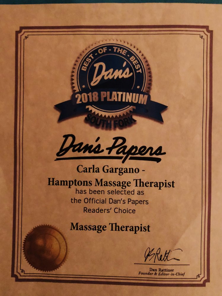 Hamptons Massage Therapist