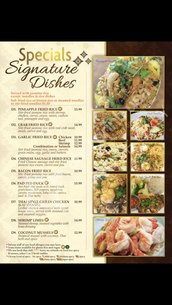 Thai Bowl Cuisine: 2210 Three Lake Pkwy, Tyler, TX