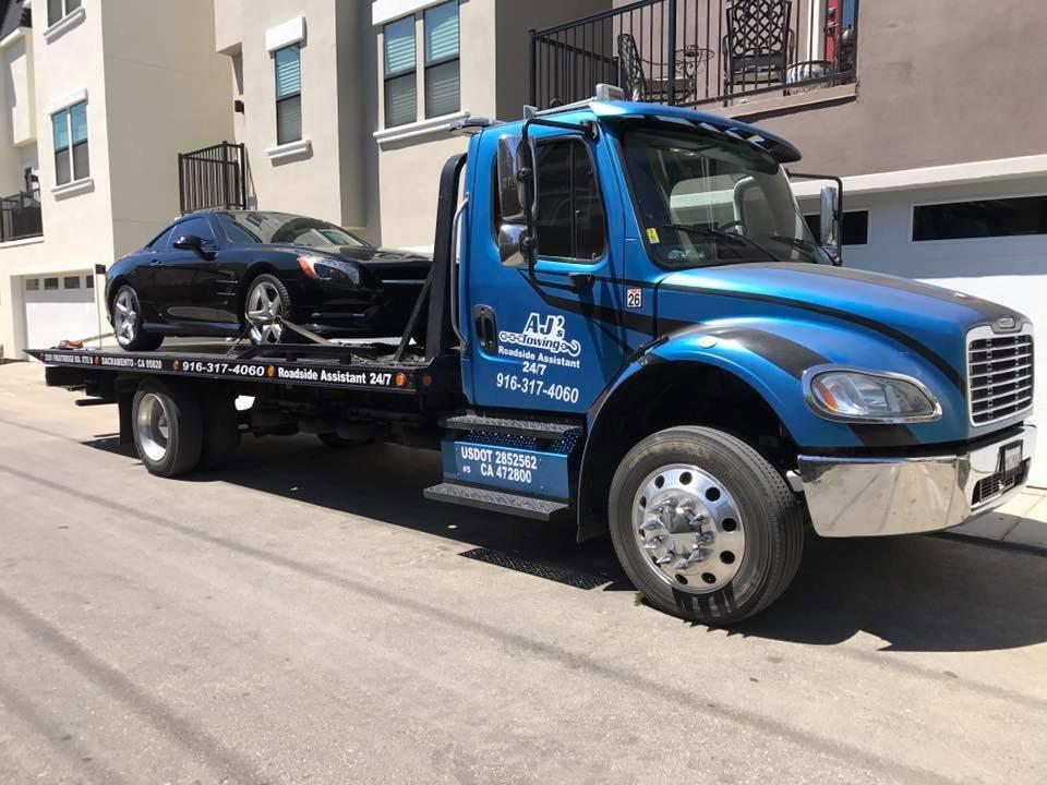 AJ's Towing: 3351 Fruitridge Rd, Sacramento, CA