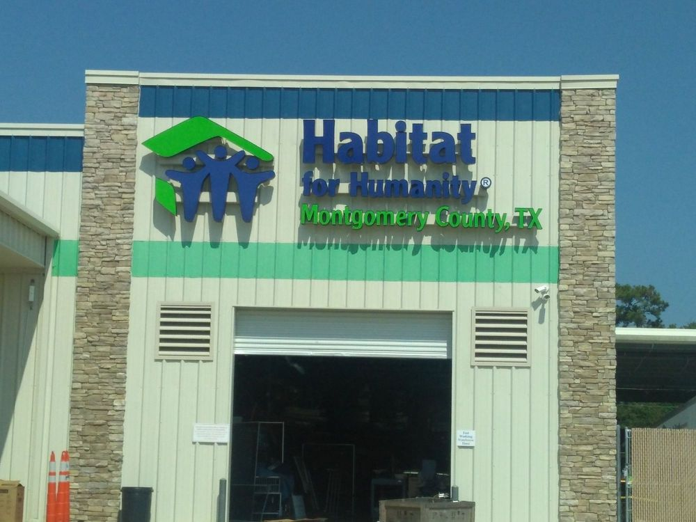 Habitat for Humanity MCTX ReStore: 9407 State Hwy 242, Conroe, TX