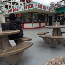 Photo Of Hot Dog On A Stick Santa Cruz Ca United States