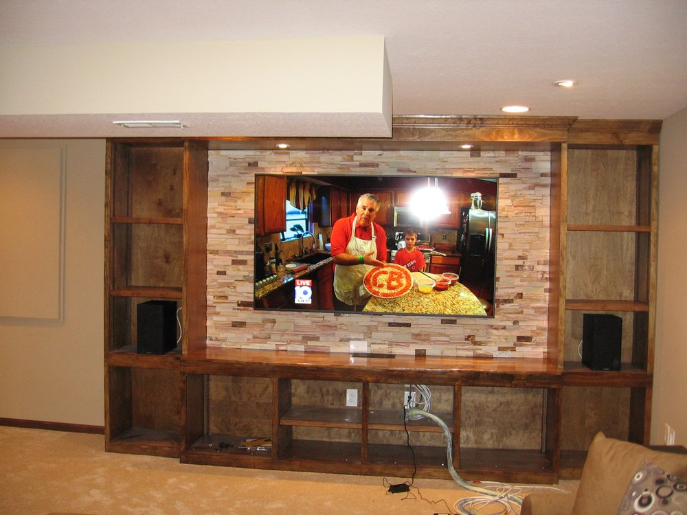 finished basement plus 46 photos contractors galena oh rh yelp com Awesome Finished Basements Finished Basement Ideas