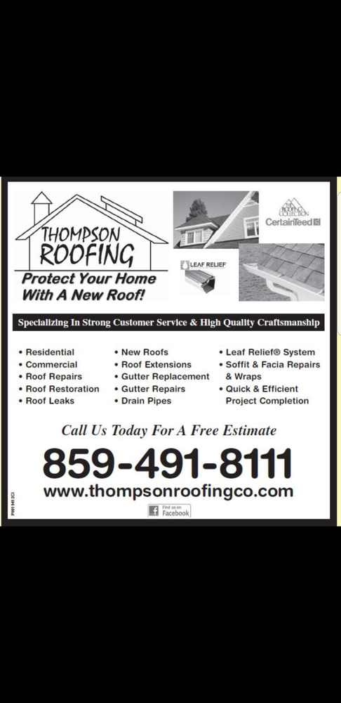 Thompson Roofing: 231 Center St, Bellevue, KY