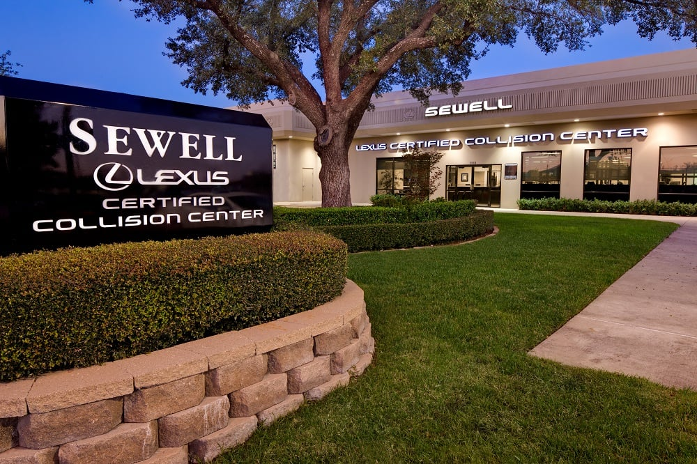 Sewell Lexus Certified Collision Center Of Dallas Reviews - Lexus collision center