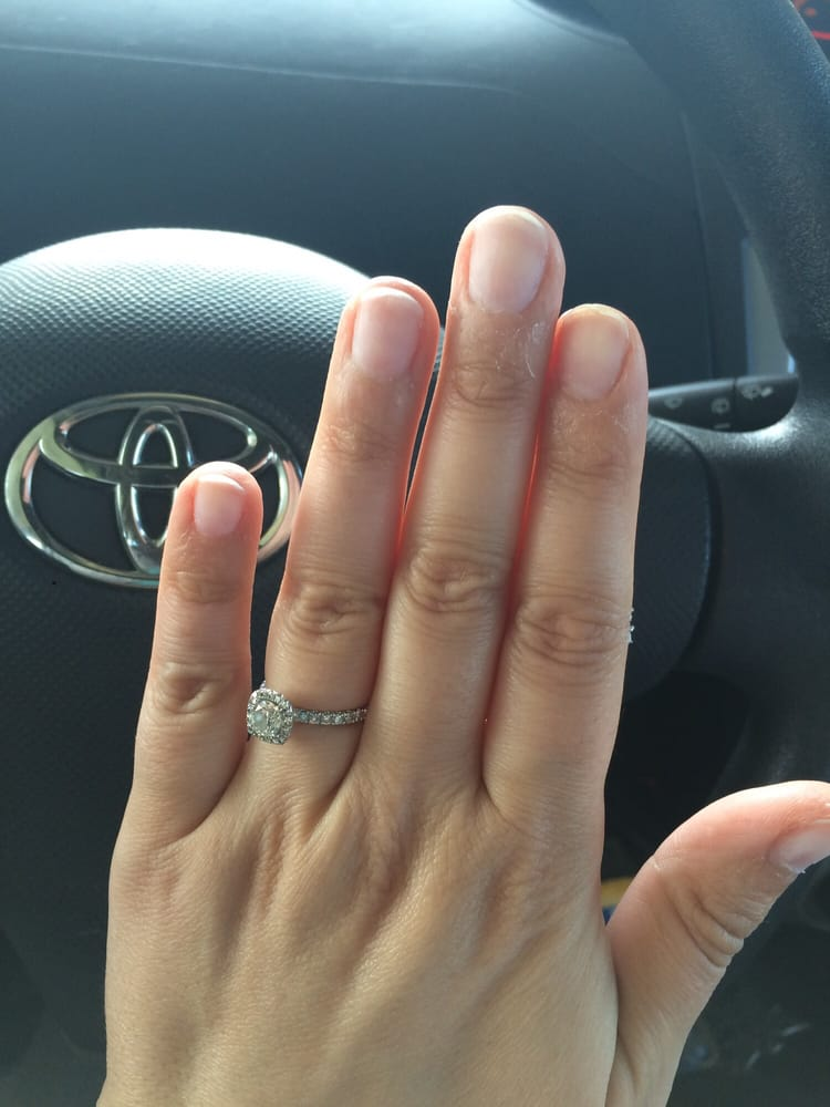 And my dipping powder nails are off. My natural nails and they didn ...