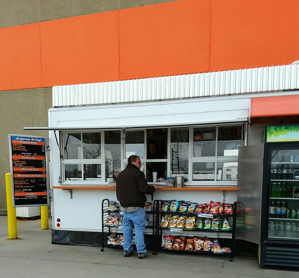 Home Depot Hot Dog Cart