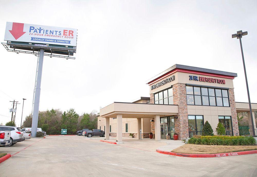 Patients Emergency Room: 10133 Interstate 10 E, Baytown, TX