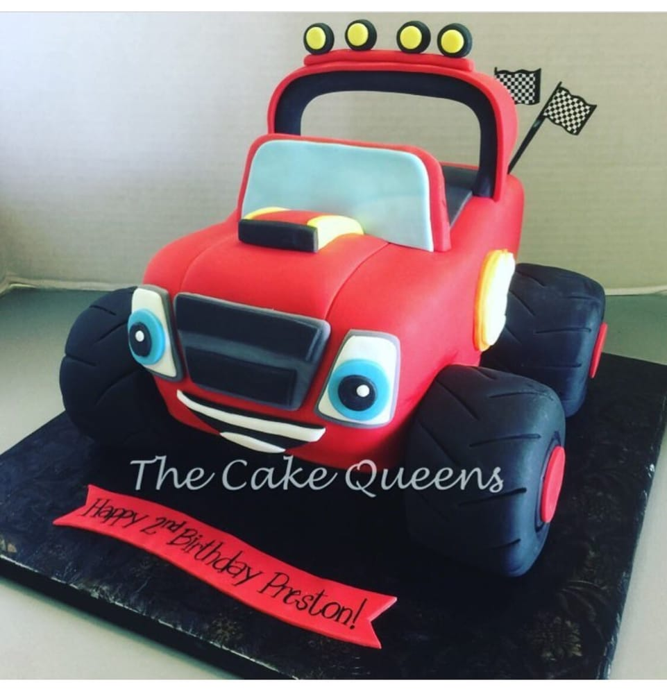 Blaze Monster Truck Cake Yelp