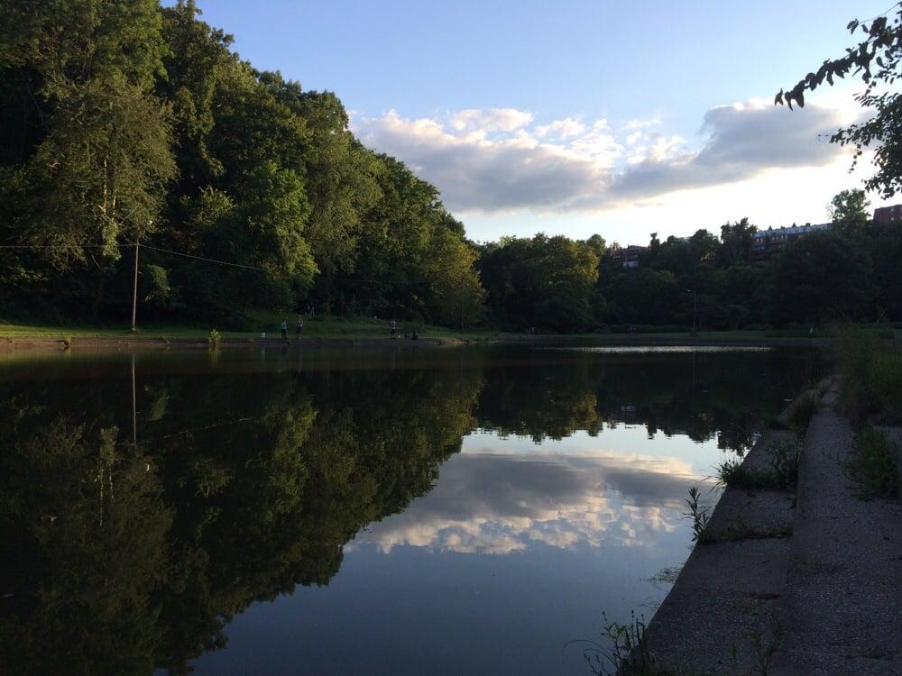 Panther Hollow Lake: Panther Hollow Rd, Pittsburgh, PA