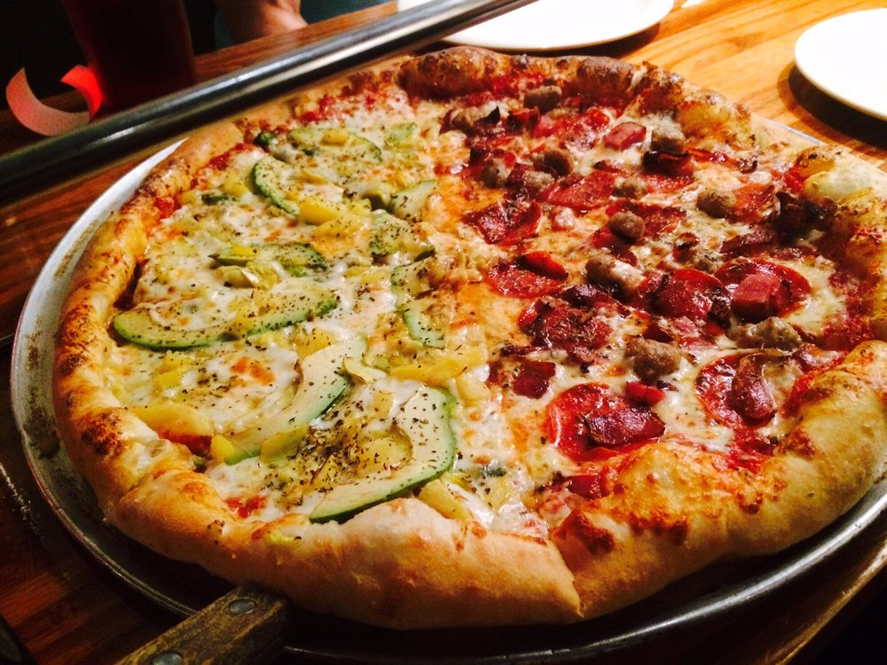 Food from Shenandoah Pizza & Tap House