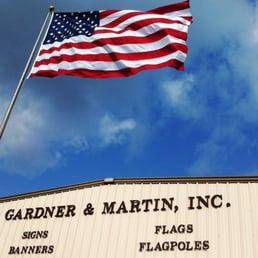 Gardner Amp Martin Flags Flagpoles Signs And Banners