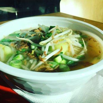 Photo Of Ruby Thai Kitchen   Braintree, MA, United States. Wonton Noodle  Soup