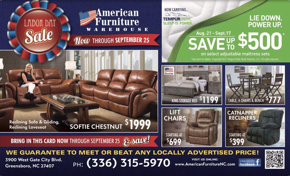 American Furniture Warehouse 23 Photos Bed Shops 3900 W Gate City Blvd Greensboro Nc