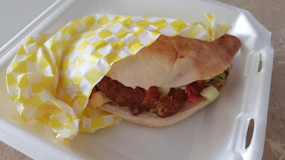 Wawa Gas Prices Near Me >> Falafel Sandwich with Iraqi Samoon Bread. Very Delicious ...
