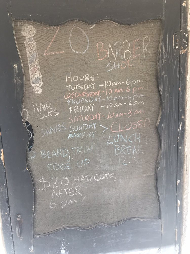 Zo's Barber Shop: 611 East Holland Ave, Alpine, TX