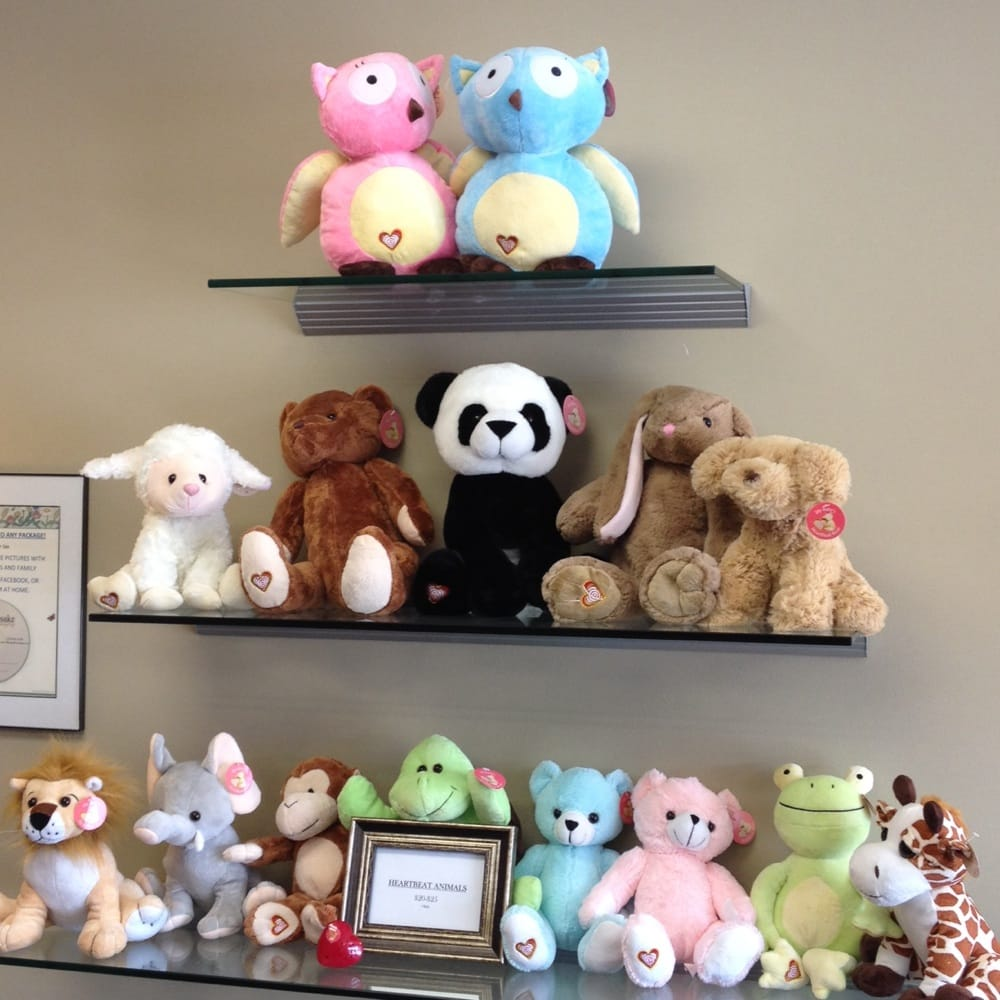 The Heartbeat Stuffed Animals That They Record Your Baby S Heartbeat