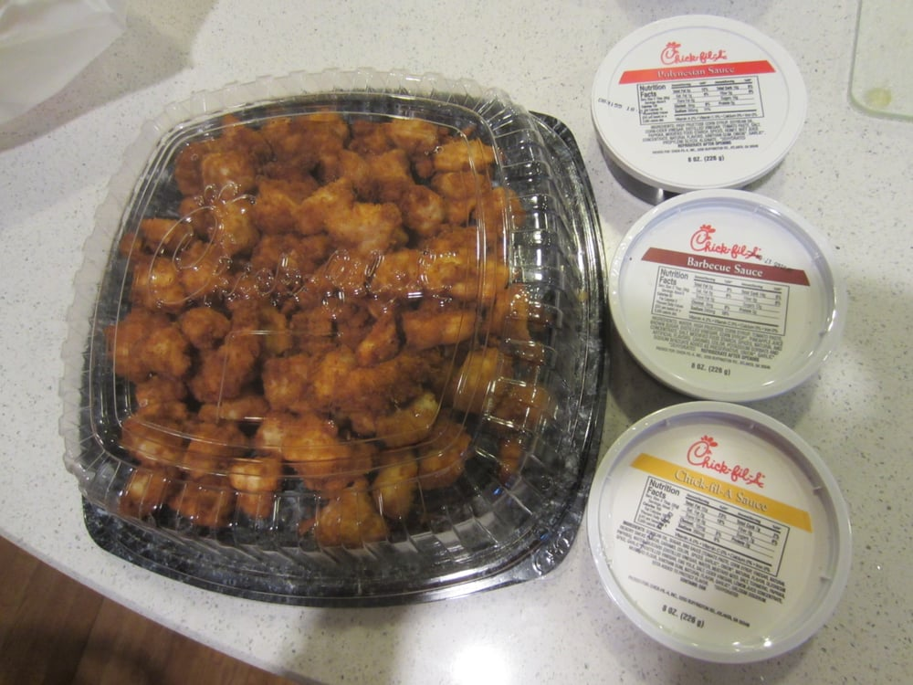 Chick Fil A Breakfast Tray Inspiration Small Chicken Nugget Party Platter 60 Pieces For 60 With Three