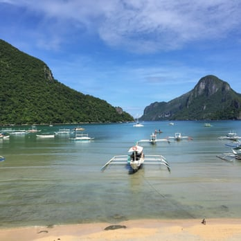 Photo Of El Nido Beach Hotel Palawan Philippines View From