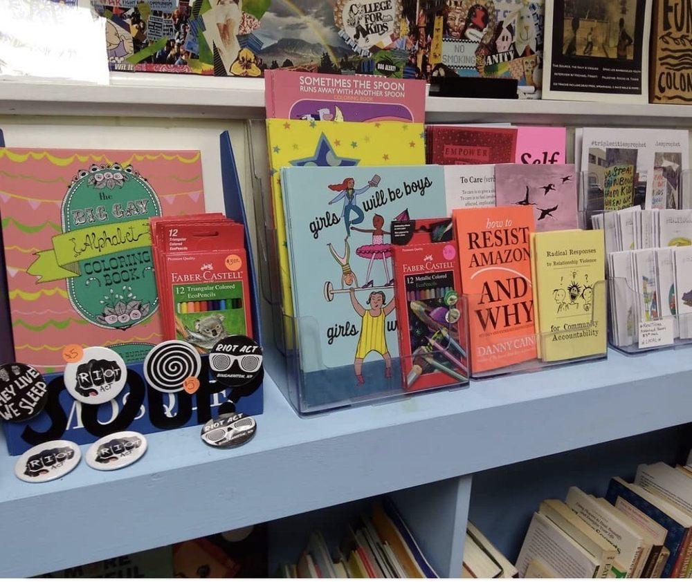 Riot Act Books: 129 Main St, Binghamton, NY