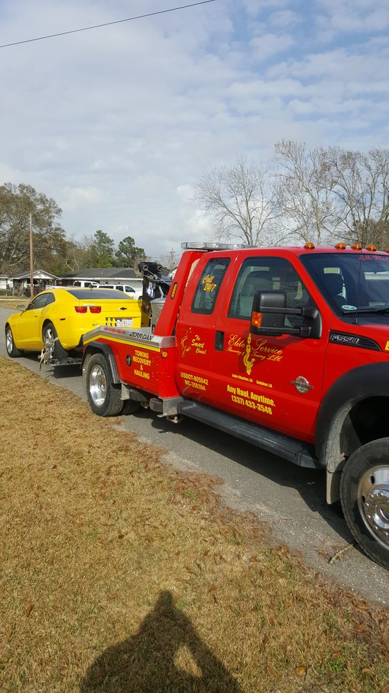 Elite Services and Towing: 3700 Old Highway 27, Sulphur, LA