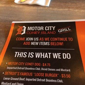 Motor City Coney Island Grill 36 Photos 39 Reviews