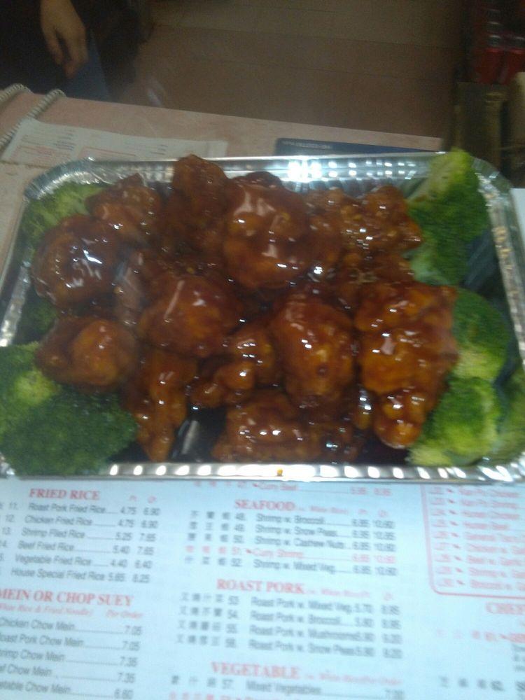 Food from Dragon Garden Chinese Restaurant