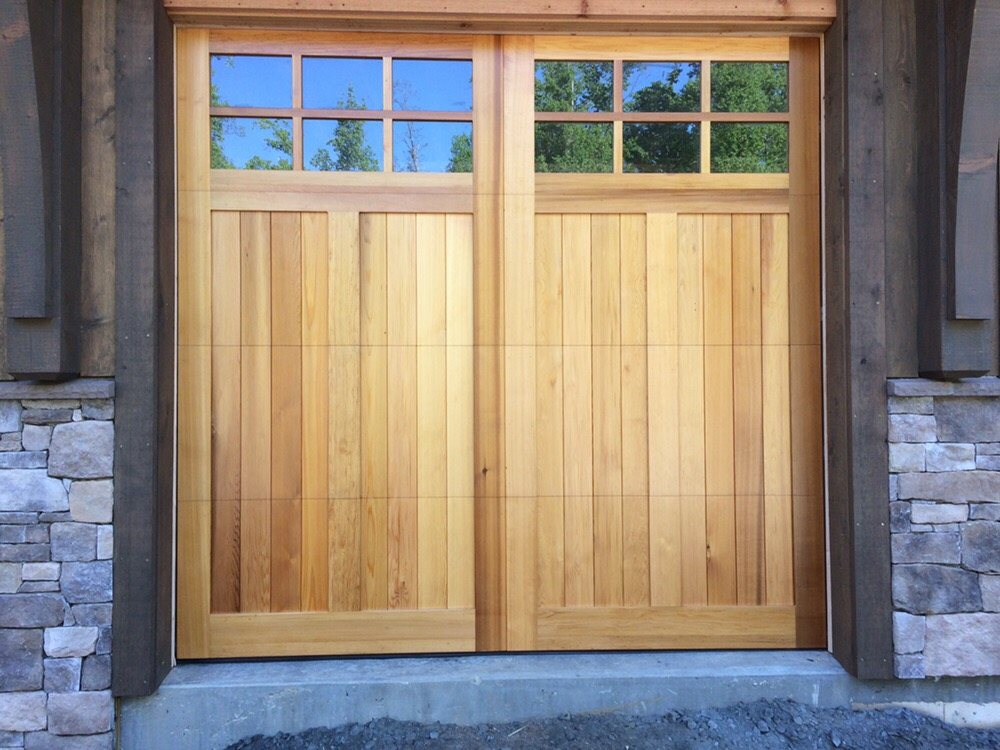 Photo Of Marvin S Garage Doors Winston M Nc United States Custom Wood