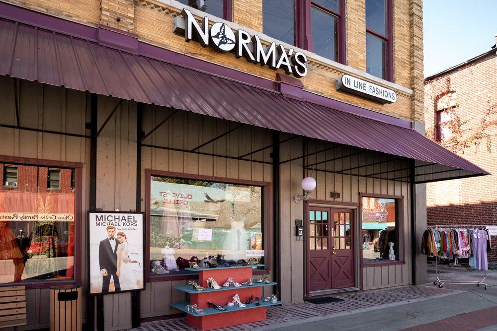 Norma's Inline Fashions: 12 E Olive St, Aurora, MO