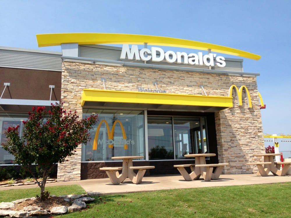 McDonald's: 801 Ada Webb Dr, Stroud, OK