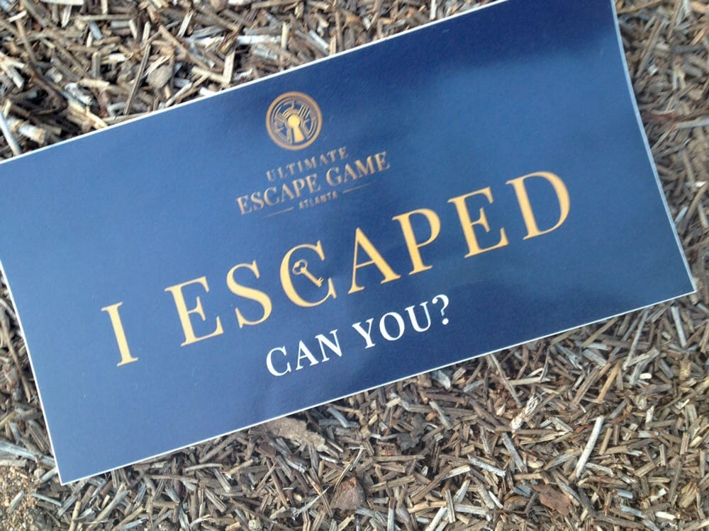Ultimate Escape Game Atlanta: 3200 Cobb Galleria Pkwy, Atlanta, GA