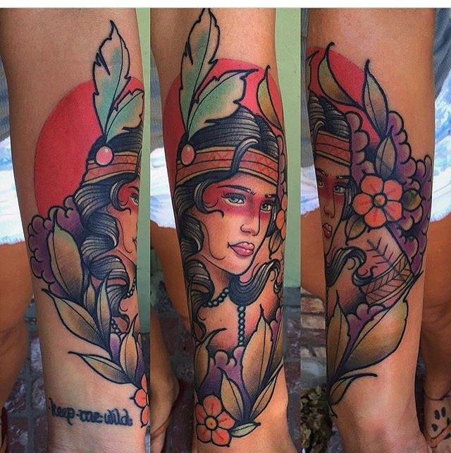 Anchor Rose Tattoo: 532 College Ave, Santa Rosa, CA