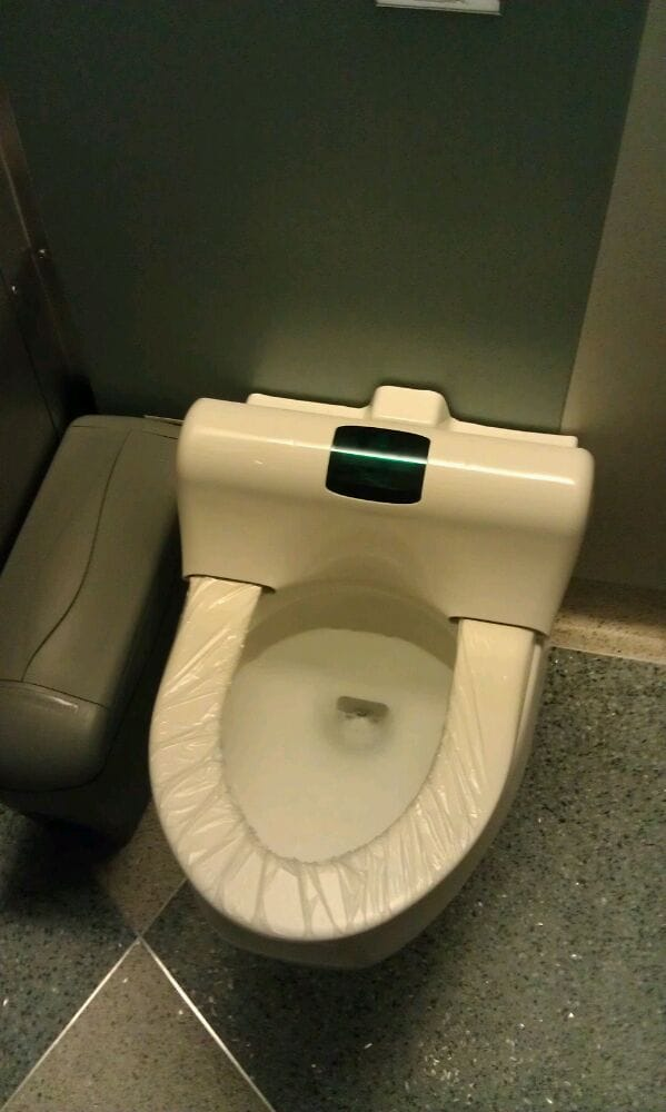 Cool The Toilets Change Their Own Seat Covers Yelp Ibusinesslaw Wood Chair Design Ideas Ibusinesslaworg
