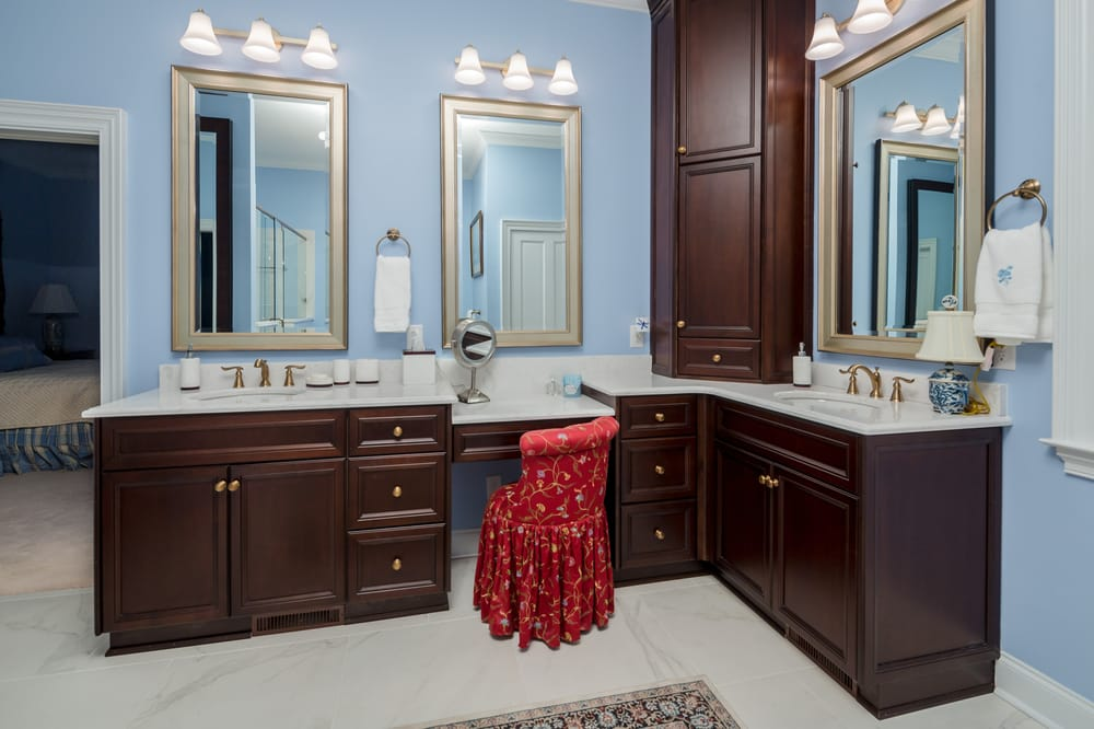 A Finished Bathroom Remodeling Job Used With Permission From Merit - Bathroom remodel augusta ga