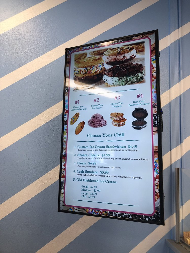 Chill Bar Ice Cream: 11506 N 56th St, Temple Terrace, FL