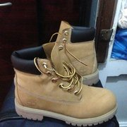 Photo of Timberland - Herald Square - Manhattan, NY, United States. ..I convinced myself that I deserve these..