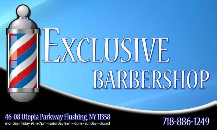 Exclusive Barbershop: 46-08 Utopia Pkwy, Flushing, NY
