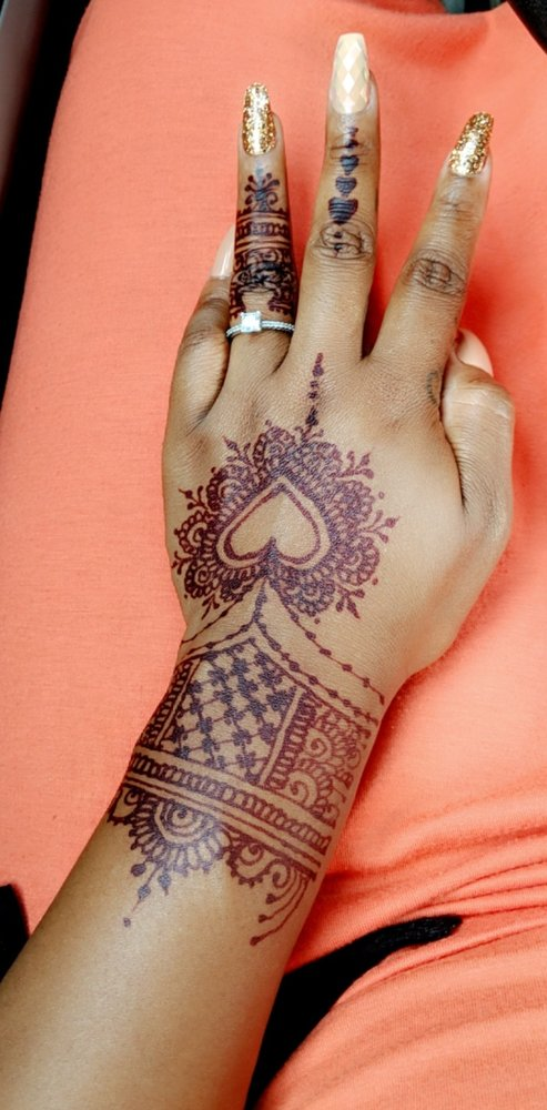 Naseera Fazil Henna Art in Charlotte: 10526 English Setter Way, Charlotte, NC