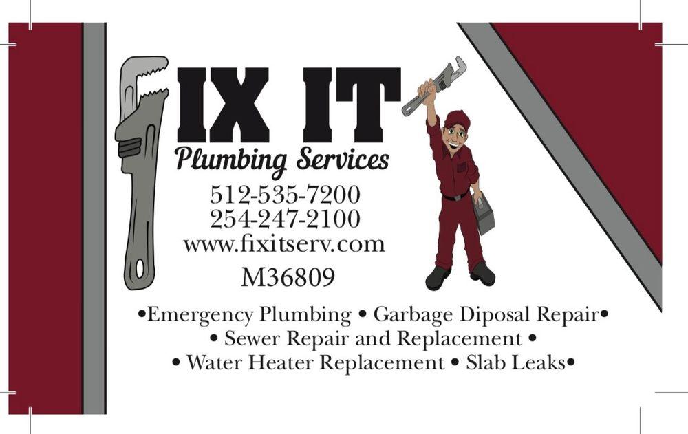 Fix It Plumbing Services: Temple, TX
