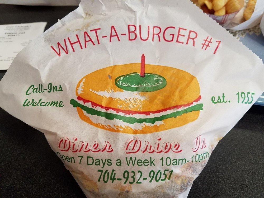 What-A-Burger 1: 1510 N Cannon Blvd, Kannapolis, NC