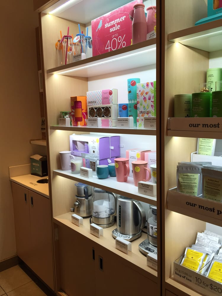 Yelp Reviews for DAVIDsTEA - 56 Photos & 92 Reviews - (New ... on